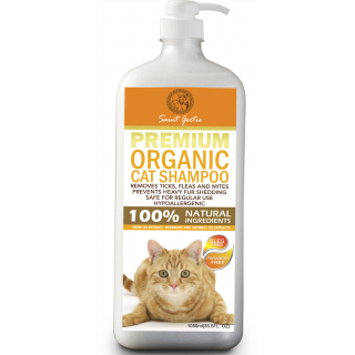 Saint Gertie Premium 1050ml Organic Cat Shampoo