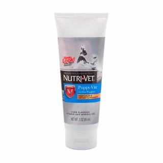 Nutri Vet Puppy Vite gel 89ml LIVER Flavor Dog Supplement