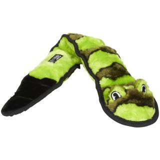 Plush Puppies Squeakin GREEN Snake Dog accesories