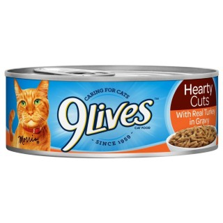 9 Lives Tender Carvings Beef in Gravy 5.5oz Wet Canned Cat food
