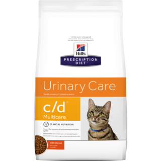 Hill's Prescription Diet Urinary Care c/d Multicare with Chicken 1.8kg Cat Dry Food