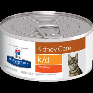 Hill's Prescription Diet Feline Kidney Care k/d with Chicken Cat Wet Food