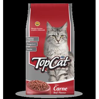 Top Cat Beef Flavor 10kg Cat Dry Food