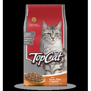 Top Cat Beef, Fish & Vegetables 1kg Cat Dry Food