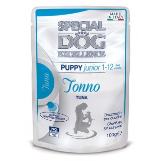 Special Dog Excellence Chunkies with Tuna 100g Puppy Junior Wet Food