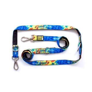 Max & Molly Rio Blue Multi-Function Pet Leash