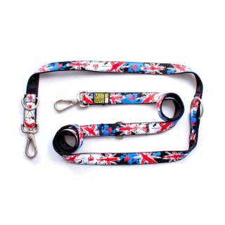 Max & Molly Patriot UK Multi-Function Pet Leash