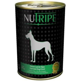 NuTripe Green Lamb Tripe 390g Grainfree Dog Wet Food