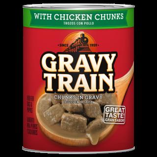 Gravy Train with Chicken Chunks in Gravy 374g Dog Wet Food