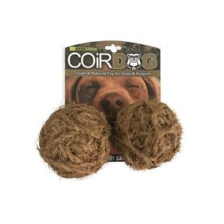 Cocogreen 2pcs Rope Ball Dog & Cat Toy