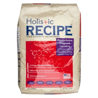 Holistic Recipe Lamb and Rice Puppy 15kg Dog Dry Food