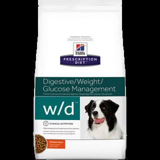 Hill's Prescription Diet Canine Digestive/Weight Glucose Management Chicken Flavor 1.5kg Dog Dry Food