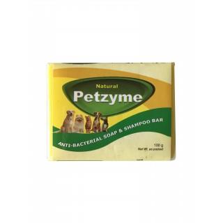 Petzyme Anti-Bacterial 100g Pet Soap & Shampoo Bar