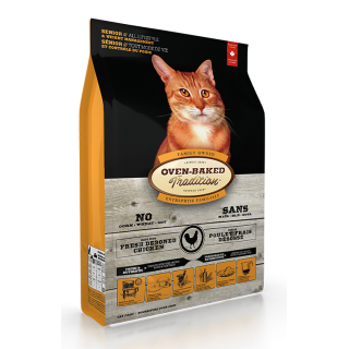 Oven Baked Tradition Senior & Weight Management Cat Dry Food