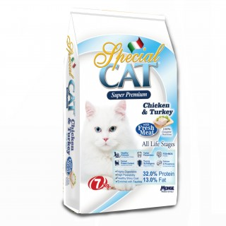 Monge Special Cat Chicken & Turkey (All Life Stages) 7kg Cat Dry Food