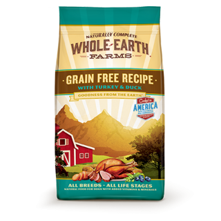 Whole Earth Farms Grain Free Recipe with Salmon & Whitefish 11.3kg Dog Dry Food