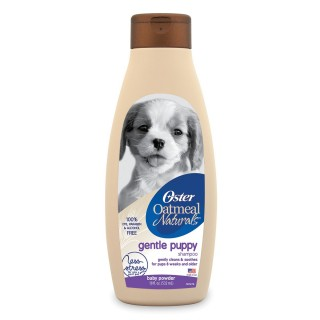 Oster Oatmeal Naturals Gentle Puppy Baby Powder Scent 532ml Dog Shampoo