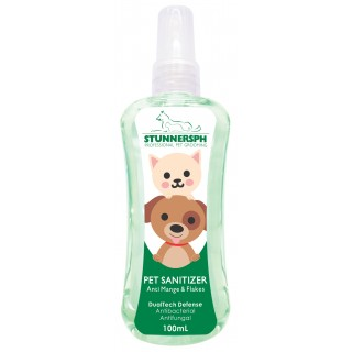 Stunners PH Anti Mange & Flakes with Tea Tree Extract 100ml Pet Sanitizer