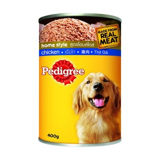 Pedigree Home Style Chicken Recipe 400g Dog Wet Food