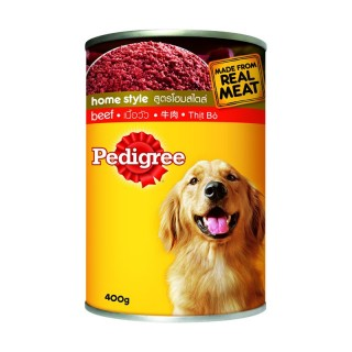 Pedigree Home Style Beef Recipe 400g Dog Wet Food