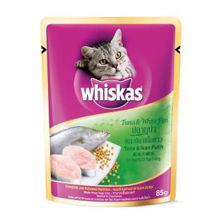 Whiskas Tuna & White Fish Pouch 85g Cat Wet Food