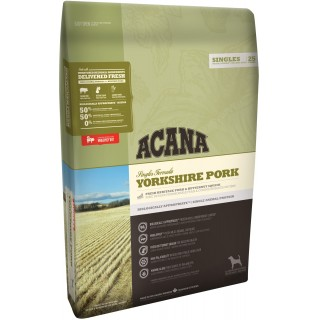Acana Singles Formula Yorkshire Pork 11.4kg Dog Dry Food