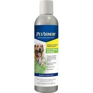 PetArmor Itch & Allergy Dog and Cat Shampoo 236ml