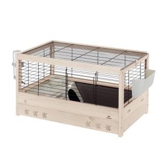 Ferplast Arena 80 Guinea Pig Wooden Habitat Home
