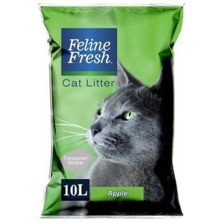 Feline Fresh Apple Scent 10L Cat Litter