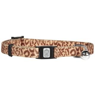 Catit Style Leopard Print Adjustable Breakaway Cat Collar