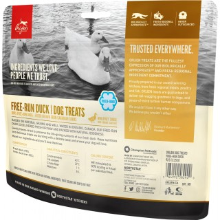 Orijen Free-Run Duck Freeze Dried 92g Dog Treats