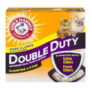 Arm & Hammer Double Duty Clumping Litter Scented 6.3kg Cat Litter