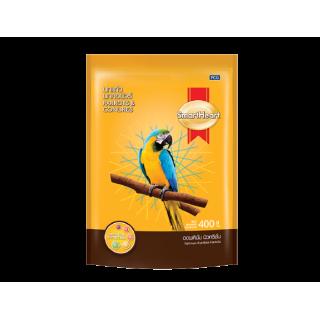 SmartHeart Parrot & Conures 400g Bird Food