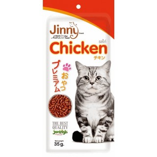 Jinny Chicken 35g Cat Treats
