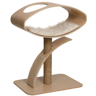 Vesper V-High Lounge in Walnut Cat Furniture