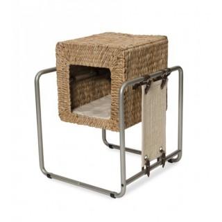 Vesper V-Cube Banana Leaf Cat Furniture