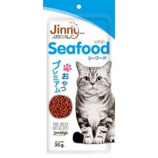 Jinny Seafood 35g Cat Treats