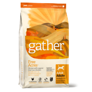 Gather Free Acres with Organic Chicken Adult Dog Dry Food