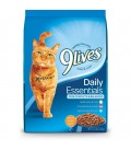 9 Lives Daily Essentials with Salmon, Chicken & Beef 5.44kg Cat Dry Food