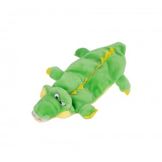 Plush Puppies Squeakin Gator Dog Toy