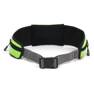 Outward Hound Hands Free Hipster Dog Leash - GREEN