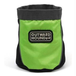 Outward Hound Treat 'n Ball Bag - Green