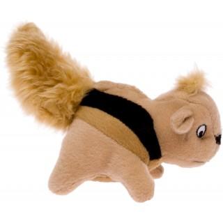 Plush Puppies Squeaking Squirrels 3pcs Dog Toy