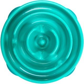 Kyjen Dog Games Slo-Bowl Regular - Drop Teal