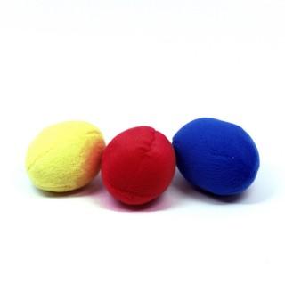 Plush Puppies Squeakin' Balls 3pcs Multicolored Squeak Dog Toys