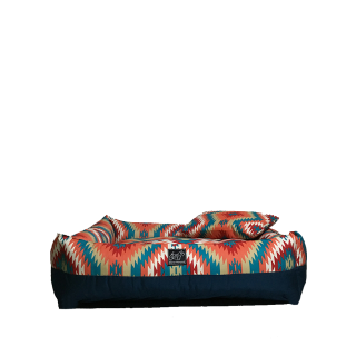 Bow House Snorebox Indian Daze Pet Bed