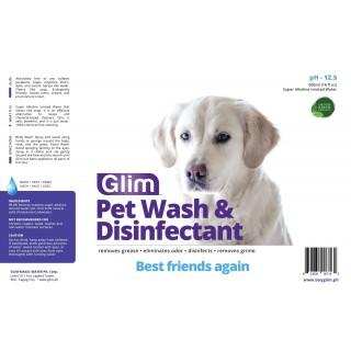 Glim Pet Wash & Disinfectant 500ml