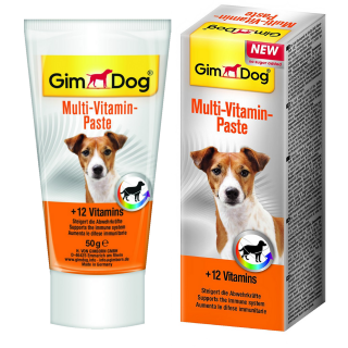 GimDog Multi-Vitamin Paste 50g Dog Supplement