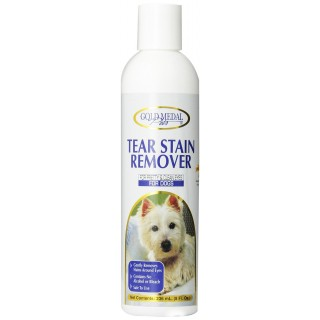 Gold Medal Pets Tear Stain Remover for Dogs and Cats, 8 oz.