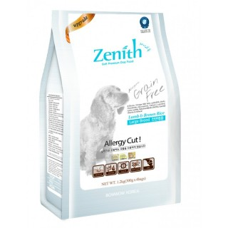Zenith Lamb & Brown Rice Large Breed 1.2kg Soft Kibble Dog Dry Food